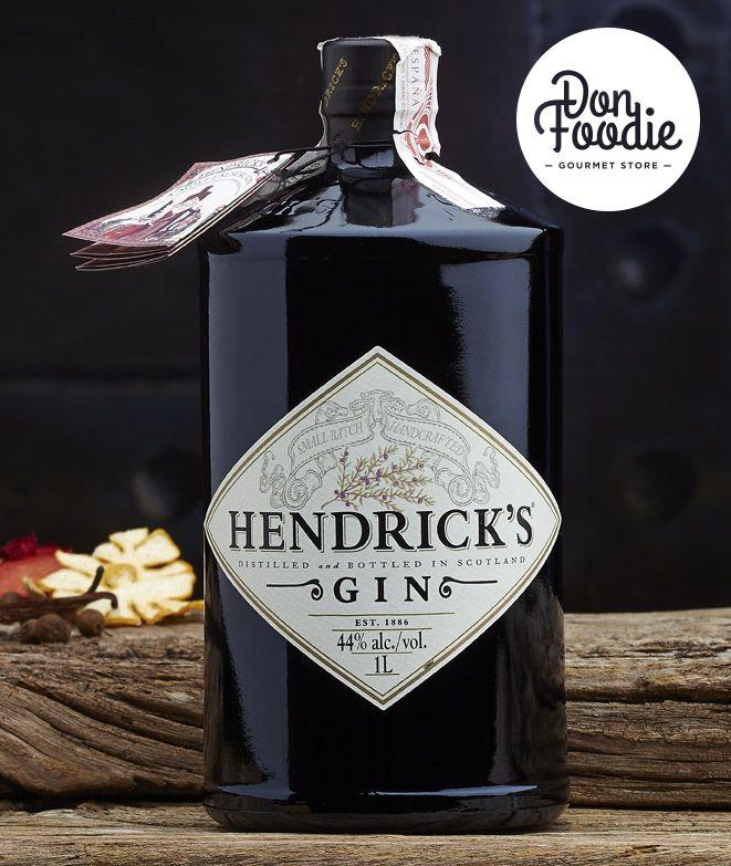 Ginebra Super Premium Hendrick's #licores #beber #drink #alcohol #destilados #fiesta #celebracion #regalo #gin #ginebra
