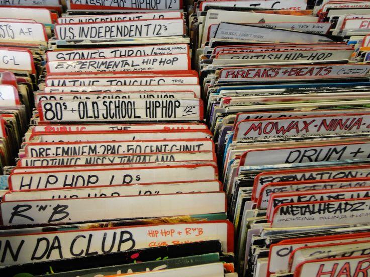 London LP store