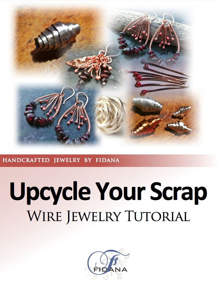Use scrap metal materials for your jewelry