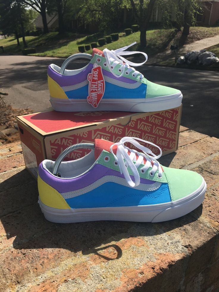 Image of old skool pastel ColorBlock - Shoes - #Colorblock #Image ...