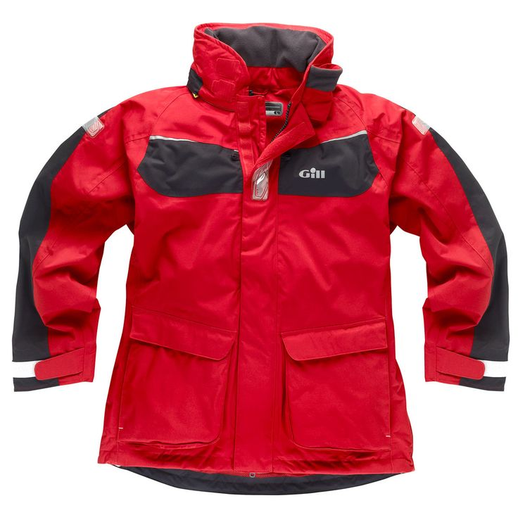 Gill - IN12 Coast Jacket - Red