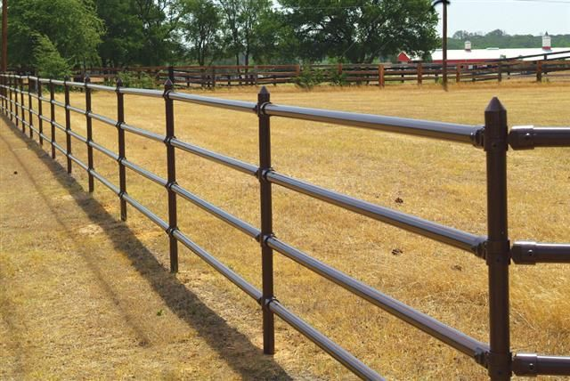 Ranch Rail Pipe Cable Fences 440fence Com Fencing