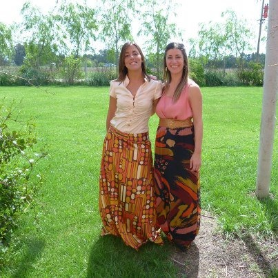 La falda de Noelia terminada y estrenada en un evento!!  Te gusta? pinned with Pinvolve