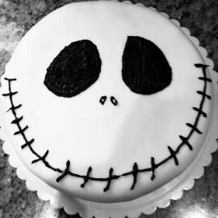 Jake skeleton cake