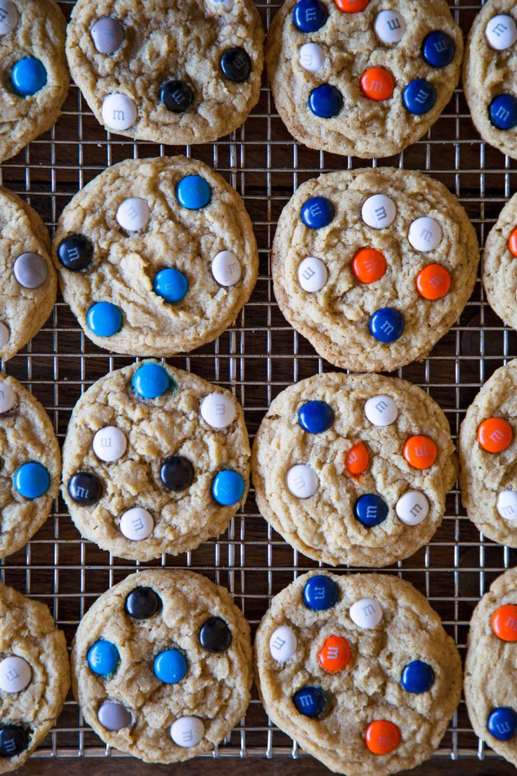 Super Bowl M&M Cookies:The Pioneer Woman
