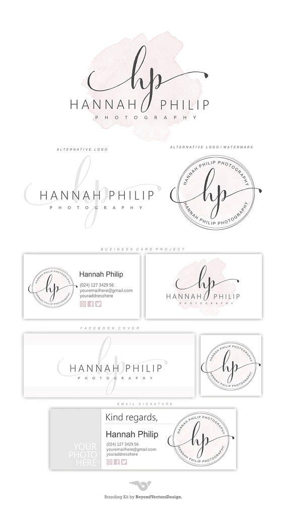 Photography Logo Design Logo Design Branding Kit