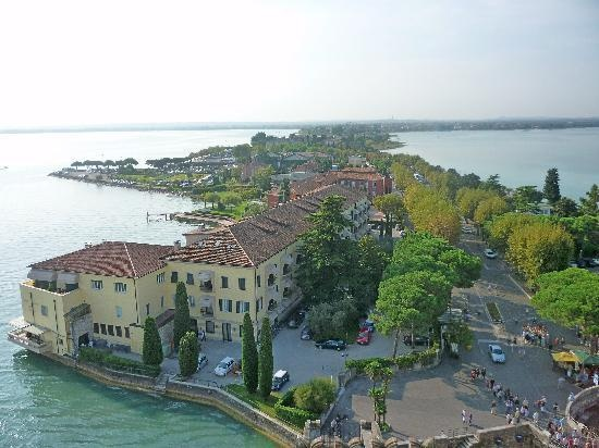 Sirmione view from castle