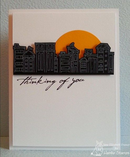 CAS217 by janeelizabeth/Jane Elizabeth France - Cards and Paper Crafts at Splitcoaststampers - Stamps: SKYLINE from Hambo Stamps