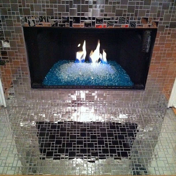 fireplace w fire glass this is pretty much the best fire place iu0027ve ever seen and i need it in my house