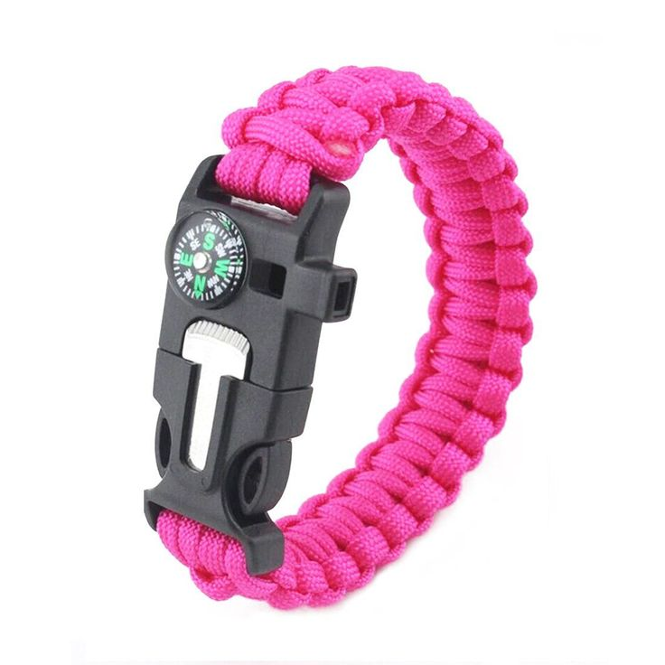 """ONLY # 1 REAL MULTIFUNCTION SURVIVAL PARACORD BRACELETS ON AMAZON , 550-LP PARACHUTE CORD, BUCKLE WITH COMPASS, FLINT FIRE STARTER, EMERGENCY WHISTLE & EMERGENCY KNIFE SCRAPER - HIKING CAMPING GEAR. PREMIUM BY DESIGN. Amazon's Best Paracord Bracelet survival multi tool with heavy duty rock climbing rope, self-defense whistle, magnesium fire starter, & compass. Compass is attached and will not fall off! Compass acts as """"LOCKING MECHANISM"""" for buckle. SURVIVE THE WILD. You won't find this..."""