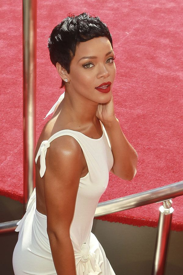 Rihanna - pixie cut styles and inspiration