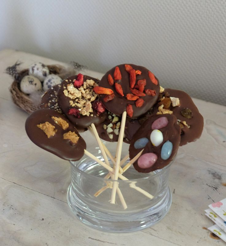 Chocolate lollipops § Chocolade lolly's