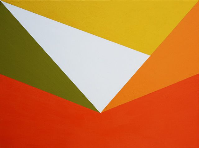 Hard-edge Painting #58 by Gary Andrew Clarke