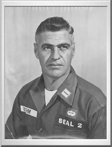 Roy Boehm,..Known as the father of the Navy SEALs. Roy fought and served in WWII, the Korean War, and the Vietnam War. As a diver Roy also provided support to Brigade 2506 during the Bay of Pigs Invasion until JFK cancelled all support to the mission. Roy actually had a list of criticisms of JFK over his handling of the Bay of Pigs. These criticisms helped JFK see the benefit in Roy and ordered him to create a special fighting unit which became the Navy SEALs.