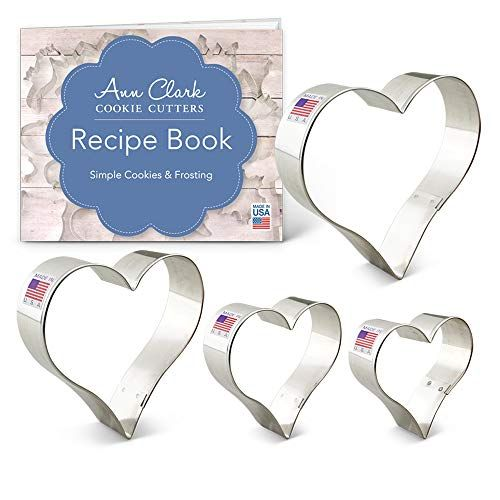 Ann Clark  CHOCOLATE MOOSE Tin Plated Steel Cookie Cutter With Recipe  USA