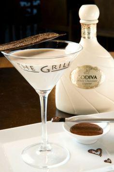 Valentine's Angel Chocotini Cocktail