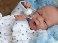 AWW! BABY BOY! Newborn PREEMIE Berenguer Life Like Reborn Pacifier Doll + Extras