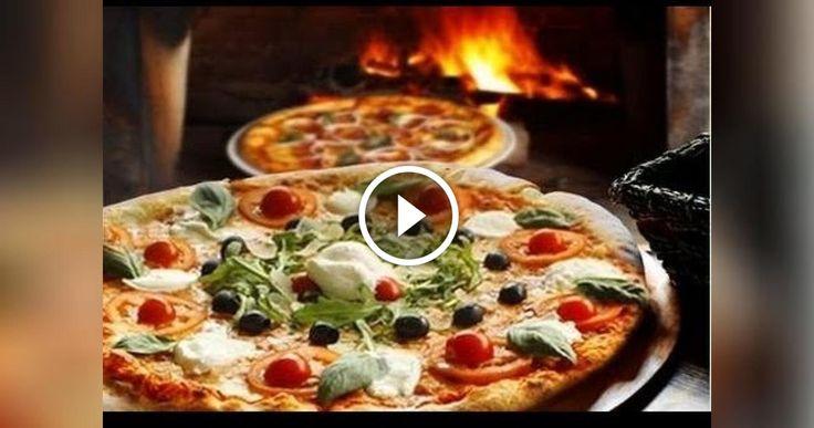 FACILE E VELOCE LA PIZZA NAPOLETANA FATTA IN CASA COME SI FA A NAPOLI GUARDA IL VIDEO