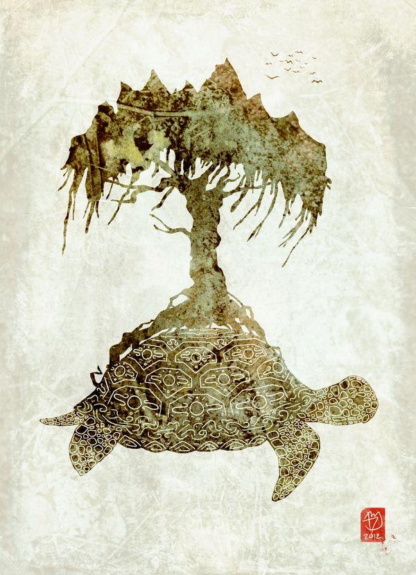 Carrier of the Tree of Life by kierokielo