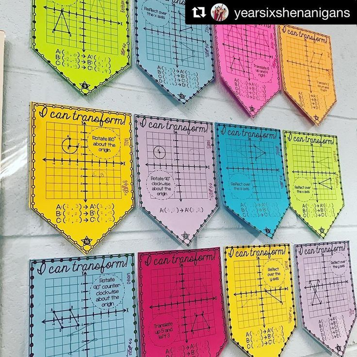 "Scaffolded Math and Science on Instagram: ""Thank you so much for sharing @yearsixshenanigans! I  your eye for color! Link in profile. ・・・ The pennants from @scaffolded.math are 100%…"""