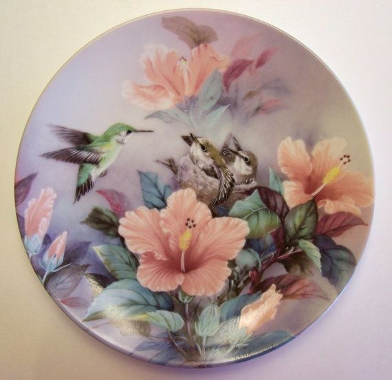 Collector Plate by Lena Liu Nature's by MyForgottenTreasures, $20.00