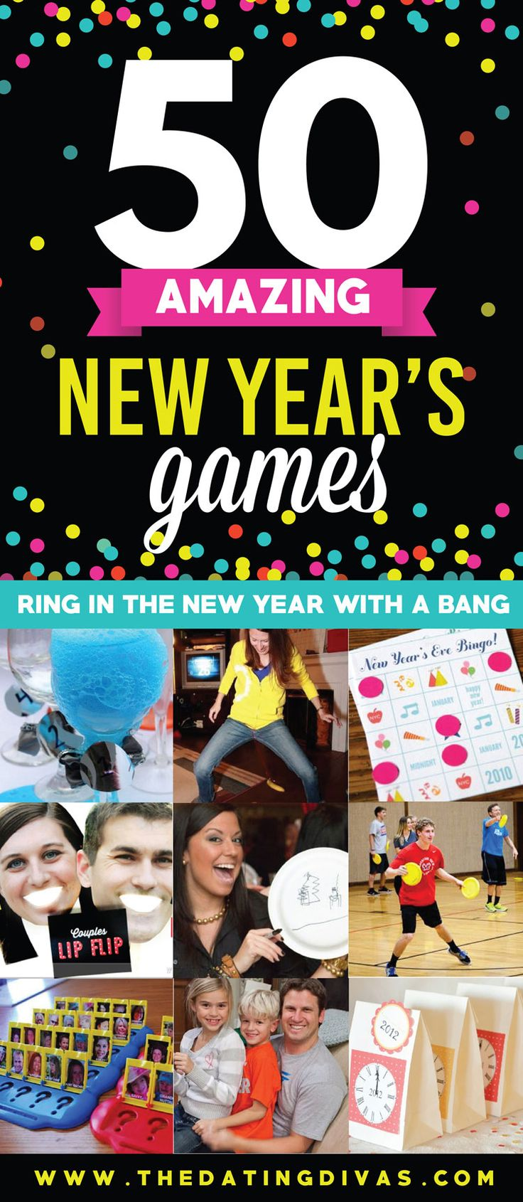 Can't wait to use these awesome party games for my New Year's Celebration! www.TheDatingDivas.com
