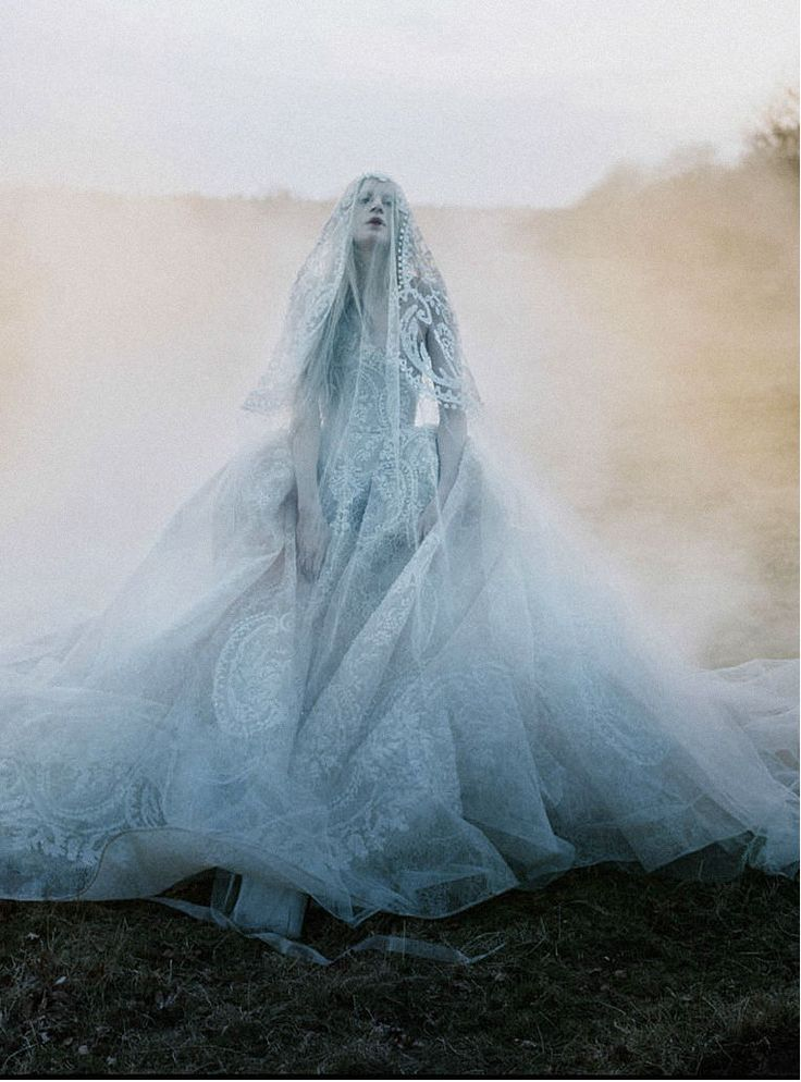 Kristen McMenamy by Tim Walker, Sunday Times Style October 2013 bride of the…