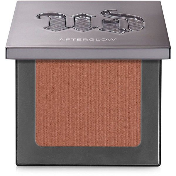 Urban Decay Afterglow Blush ($26) ❤ liked on Polyvore featuring beauty products, makeup, cheek makeup, blush, video, urban decay, powder blush, creamy blush and urban decay blush