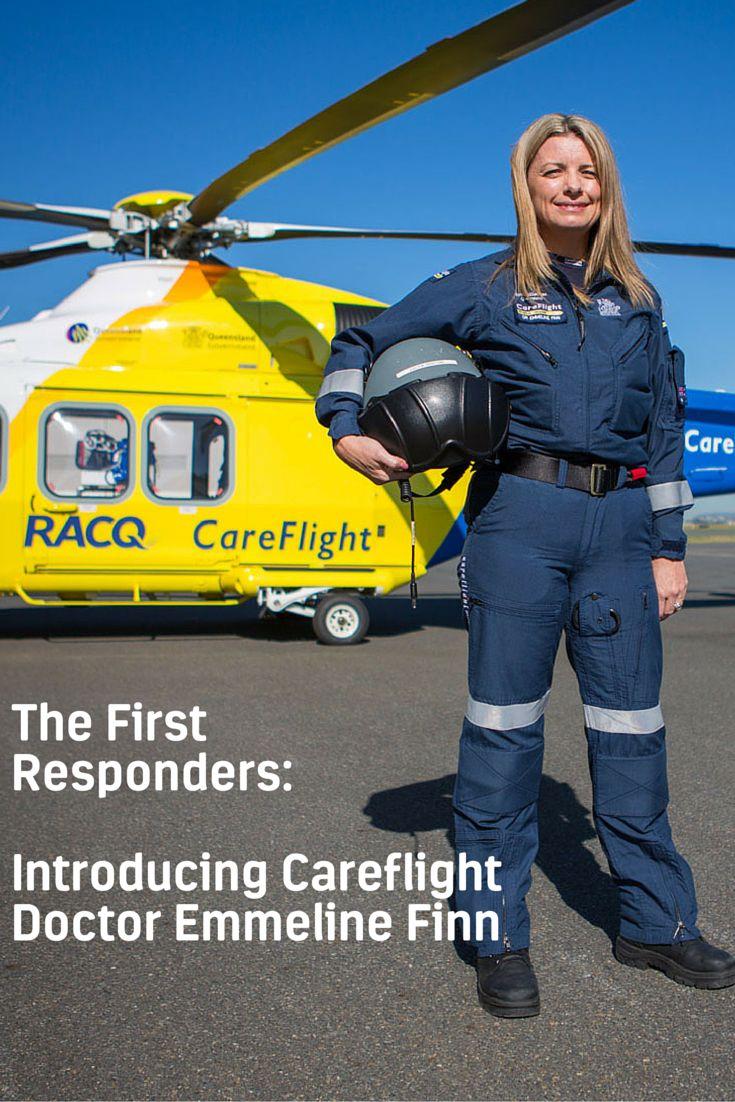 The First Responders - Introducing Careflight Doctor Emmeline Finn - http://bit.ly/RACQCareflight
