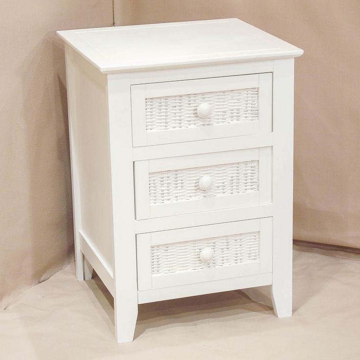 White Bedroom End Tables