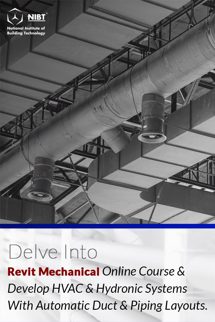 medium resolution of want to learn hvac hydronic systems with automatic duct piping layouts check out the online revit mechanical certification course nibt