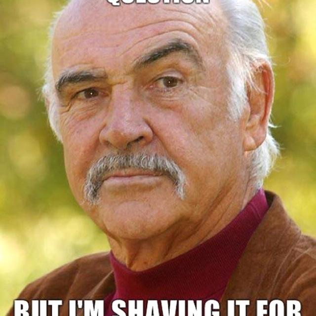 Sean Connery Meme Touch My Shelf