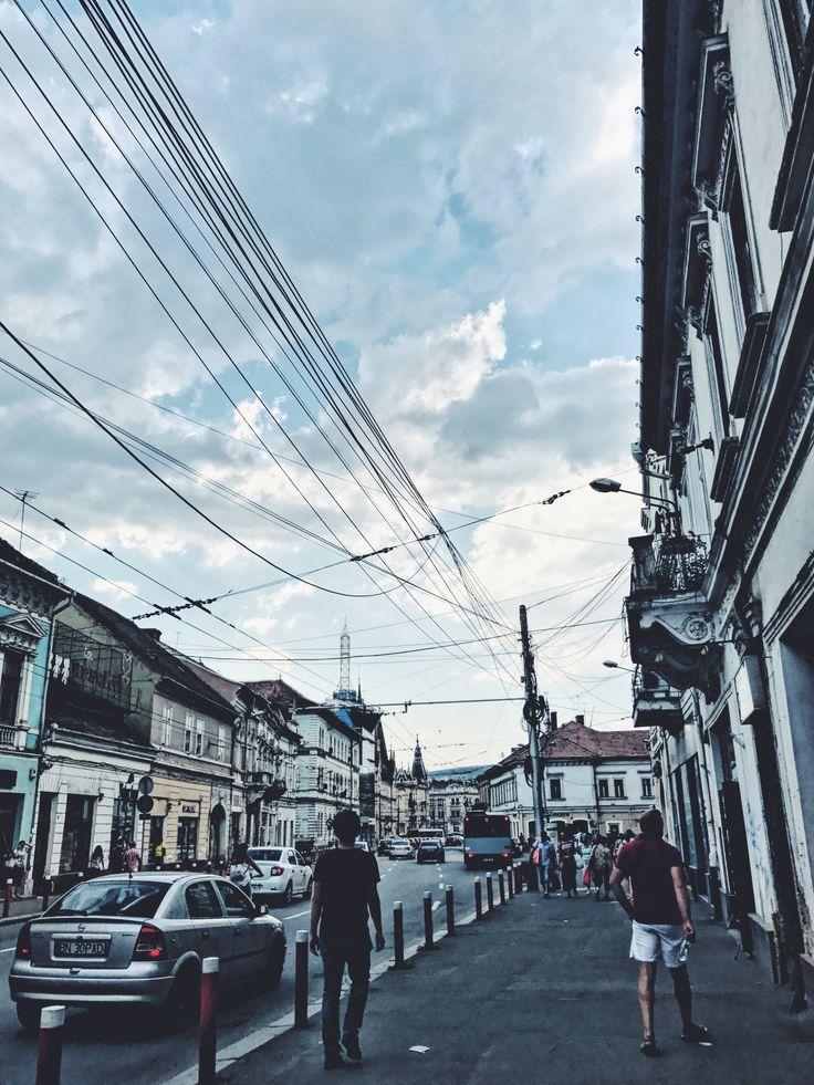 Beautiful Cluj Napoca boulevard! 🙂