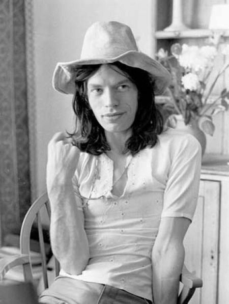 Mick Jagger 1970.  I had the same outfit!