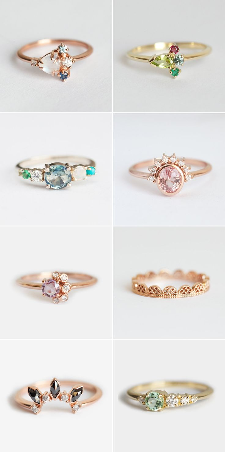 34 Gorgeous Alternative Engagement Rings You'll Want To Say Yes T