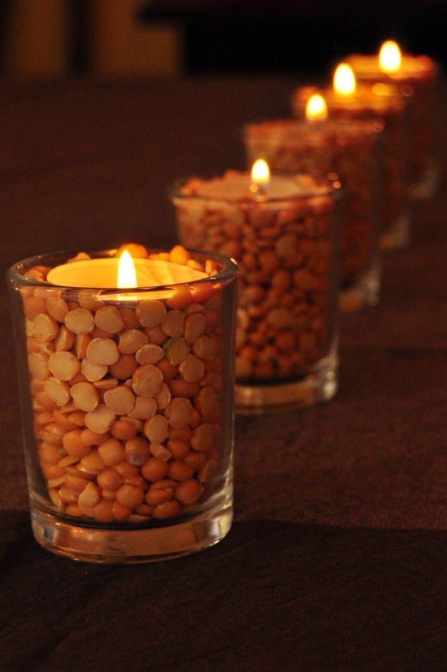 20 Decorative DIY Thanksgiving Candles
