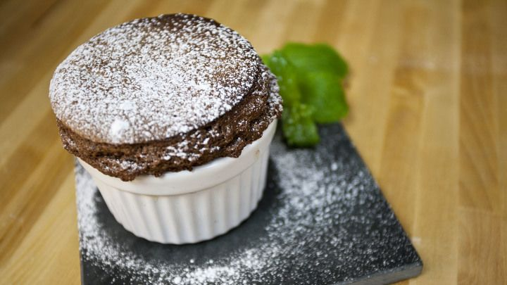 Mint Chocolate Souffl