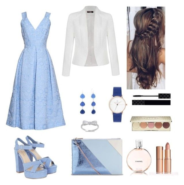 """Cinderella"" by elina-fayzulina on Polyvore featuring мода, Erdem, Ally Fashion, Whistles, Chanel, Becca, Gucci и Liz Claiborne"
