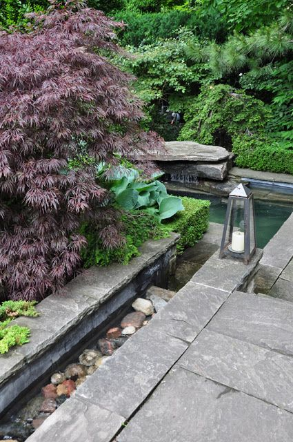 Small Water Features & Garden Ponds. I've always wanted to have a Japanese garden.