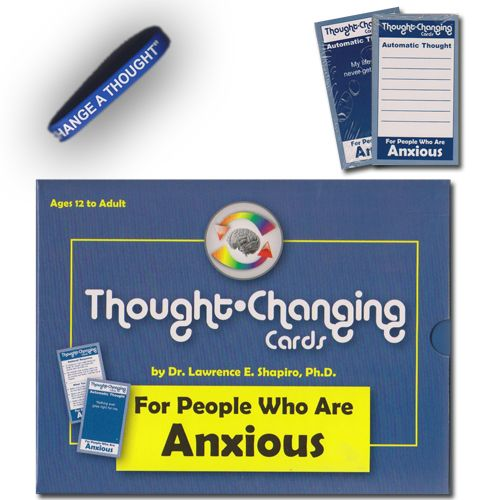 Child Therapy Toys – Thought Changing Cards for Anxiety