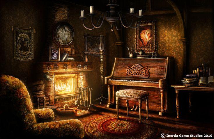 parlour by ~Ben-Andrews on deviantART | Castle Interiors ...