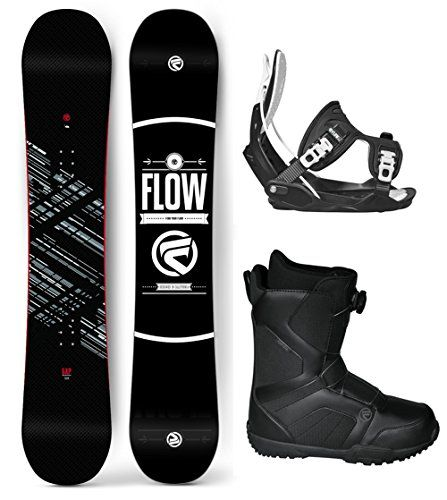 Flow 2017 Gap Mens Complete Snowboard Package Flow Bindings Flow BOA Boots  Board Size 158 Boot Size 11 * Learn more by visiting the image link.