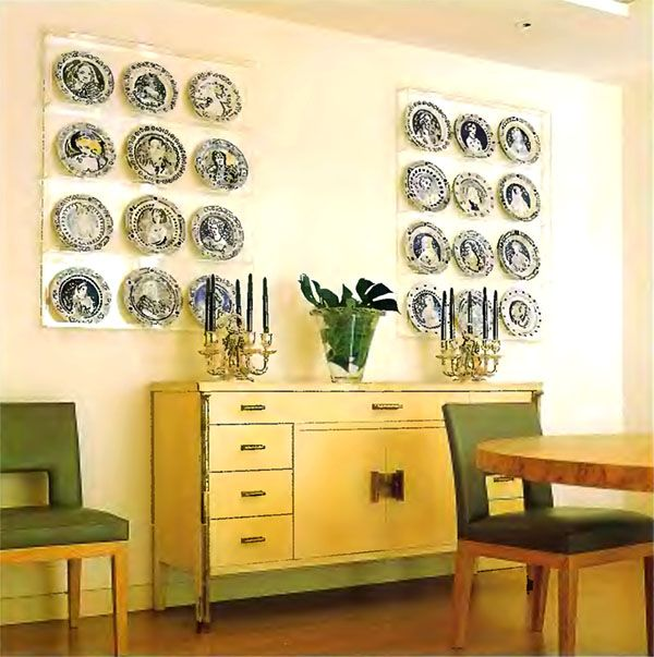 Like two framed artworks - 12 plates & 68 best Hanging Plates on Walls images on Pinterest | Home ideas ...