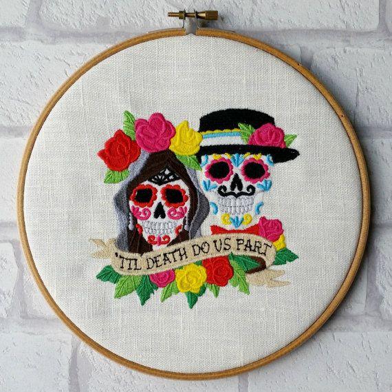 Best images about bordado y día de muertos