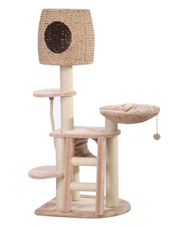 Pethouse Multi Level Cat Condo By PetPals #zulily