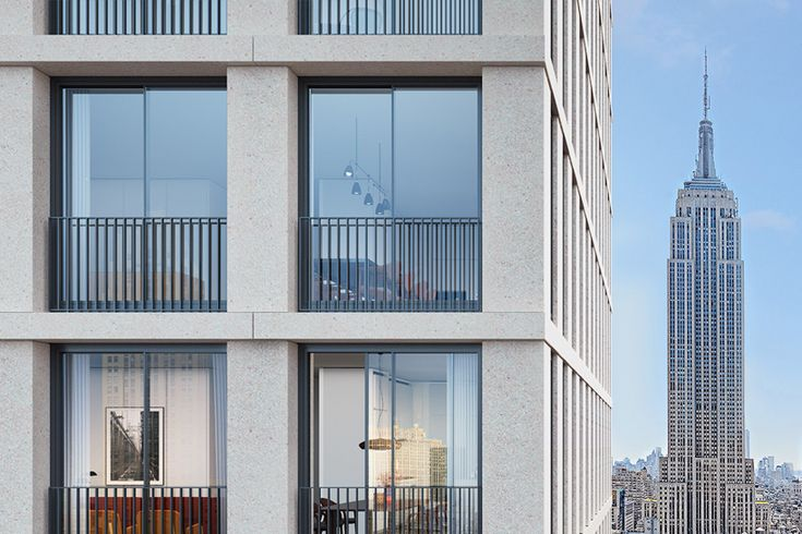 inside the bryant: david chipperfield's first residential building in new york