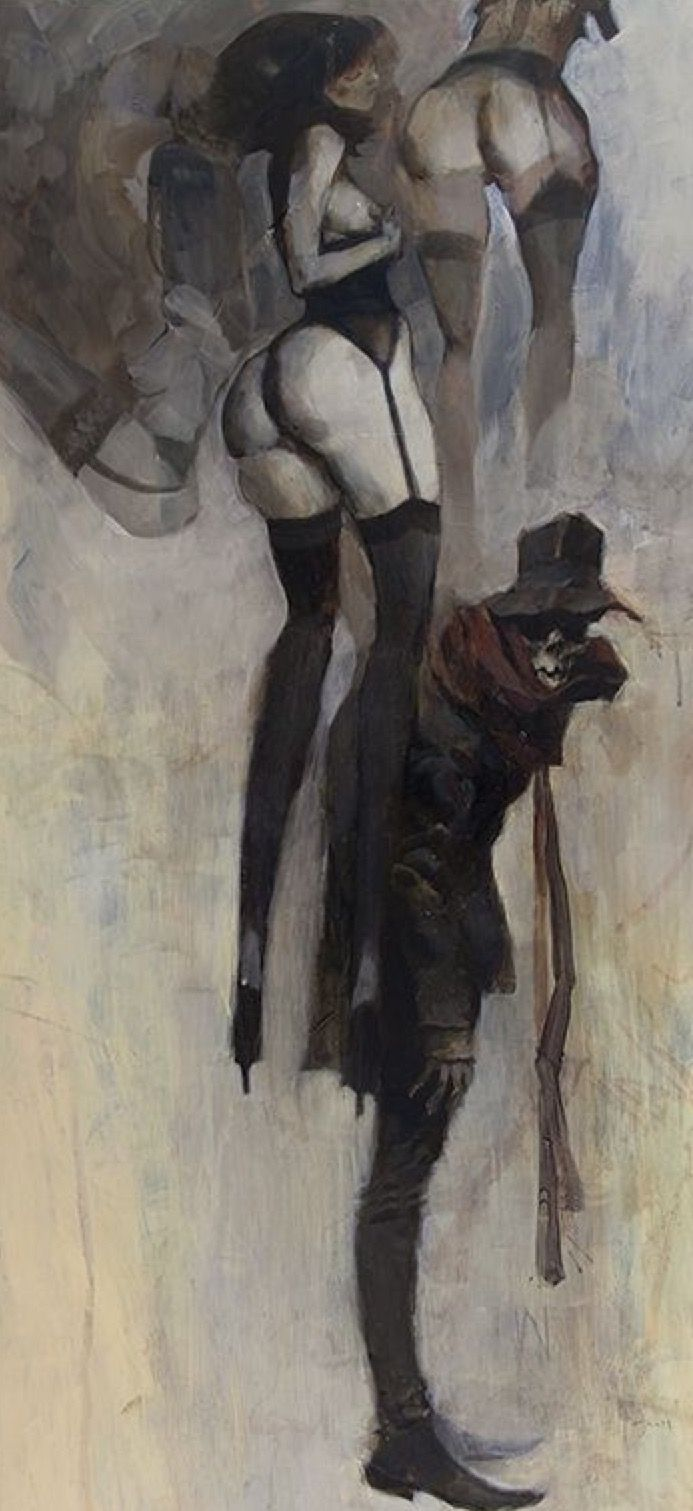 Ashley Wood, detail.