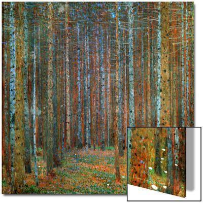 Tannenwald (Pine Forest), 1902 Art on Acrylic by Gustav Klimt at Art.com