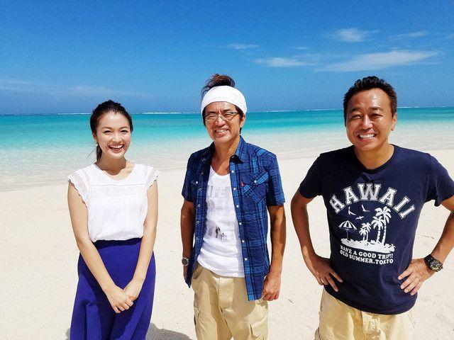 左から福田典子アナウンサー、さまぁ~ず。(c)テレビ東京