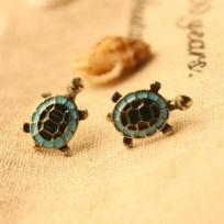 Turtle Earrings – Studs - Too Cute :)